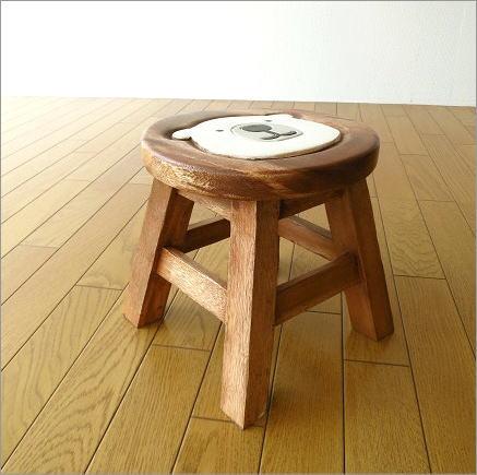 子供椅子 白くまくん(2)