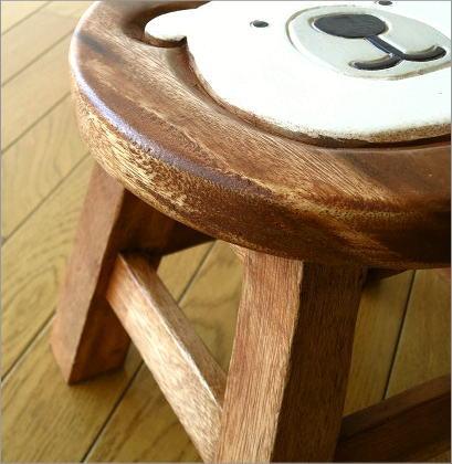 子供椅子 白くまくん(4)