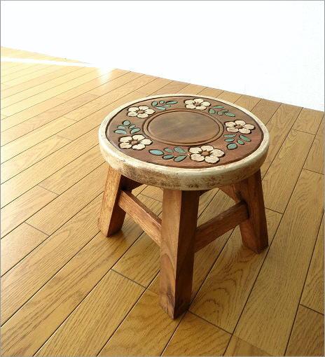 子供椅子 フラワーサークル(7)