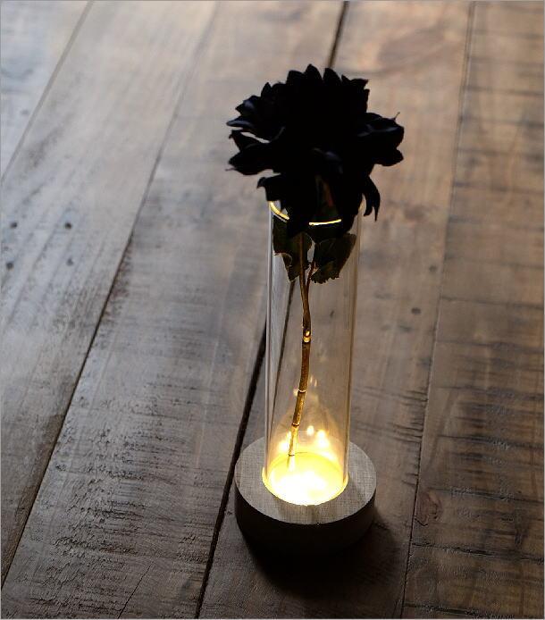 LED付きガラススタンドベース B(1)