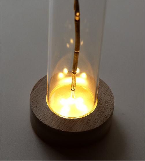 LED付きガラススタンドベース B(4)