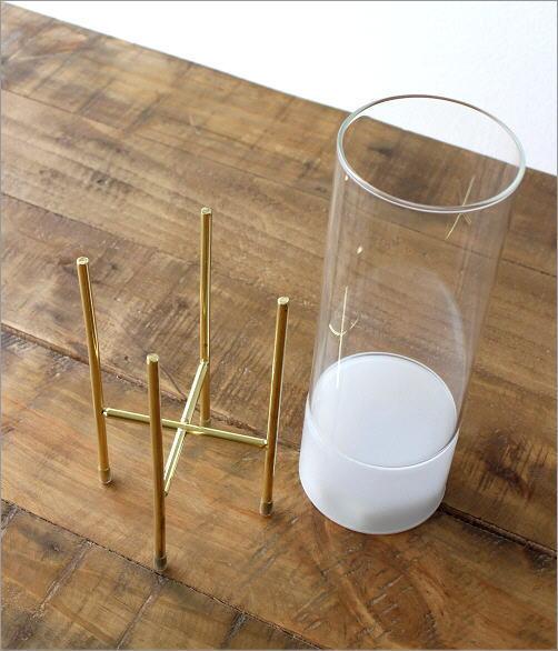 LED付きガラススタンドベース(2)