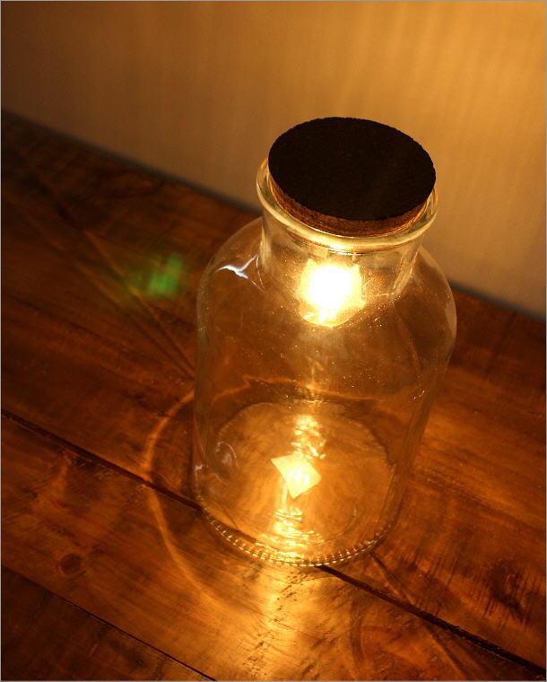 LED付きガラスボトル ボトル型(1)