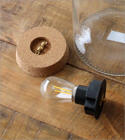 LED付きガラスボトル ボトル型(2)