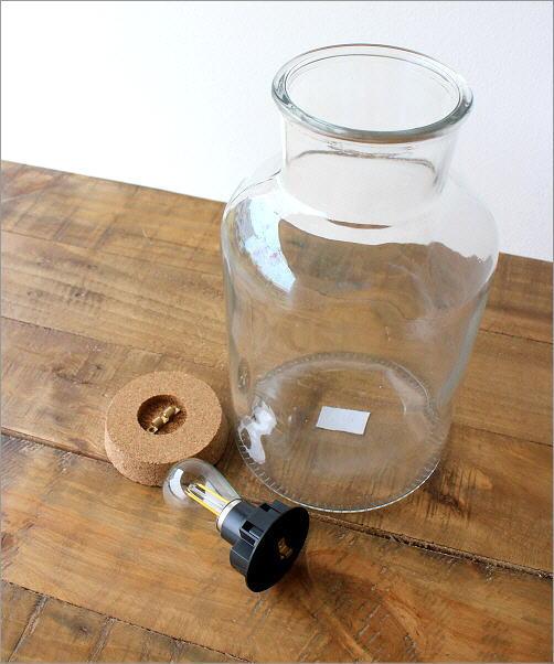 LED付きガラスボトル ボトル型(3)
