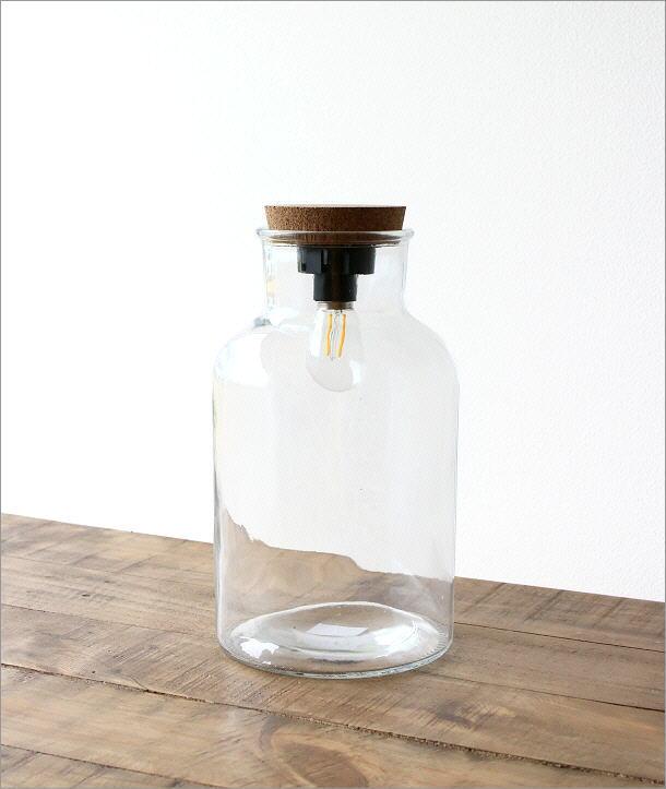LED付きガラスボトル ボトル型(4)
