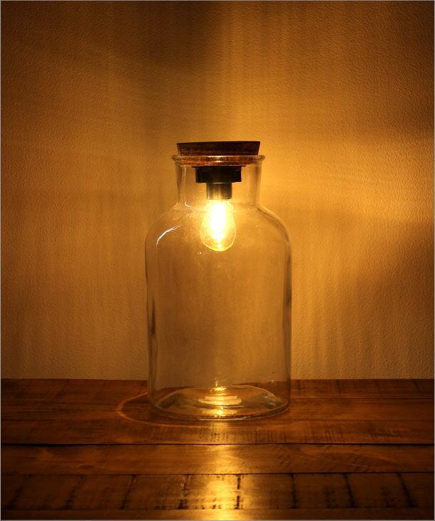 LED付きガラスボトル ボトル型(5)