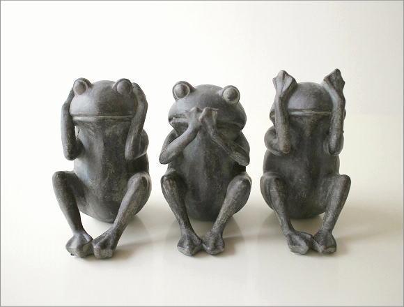 カエルの置物 3セット(7)
