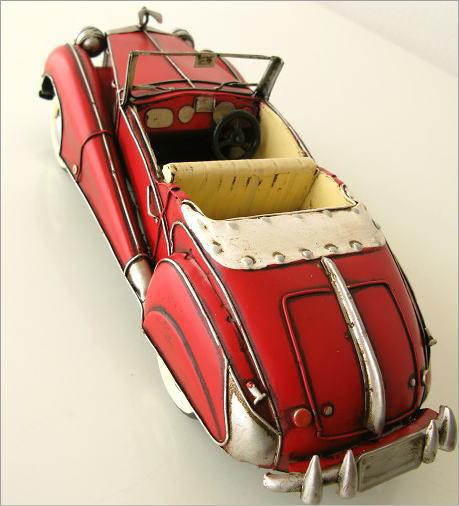 ブリキおもちゃ クラシックオープンカー