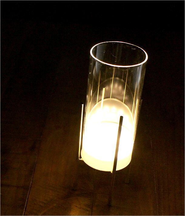LED付きガラススタンドベース ミドル(1)