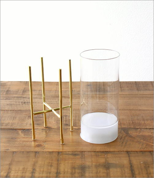 LED付きガラススタンドベース ミドル(3)