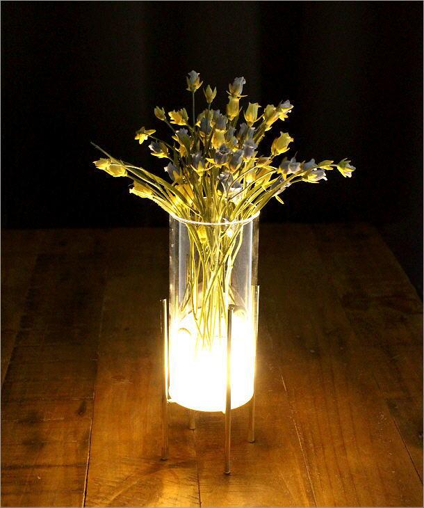 LED付きガラススタンドベース ミドル(6)