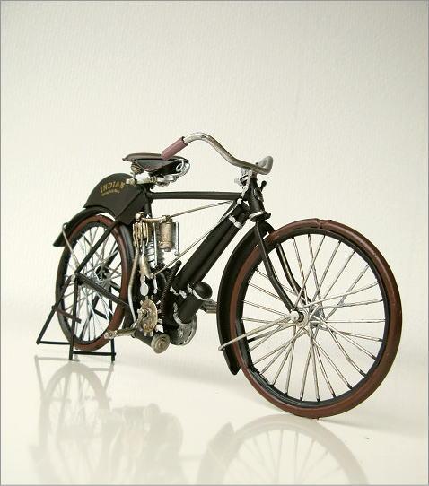 置物 ブリキおもちゃ バイク