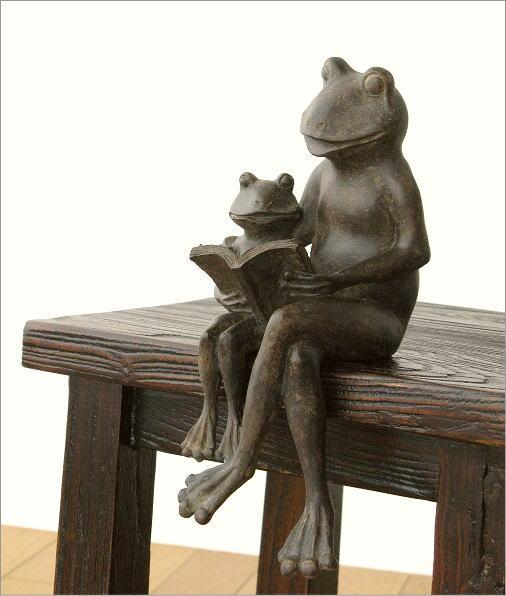 親子で読書のカエルさん(6)