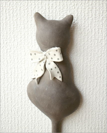 ネコのテールフック リボン(2)