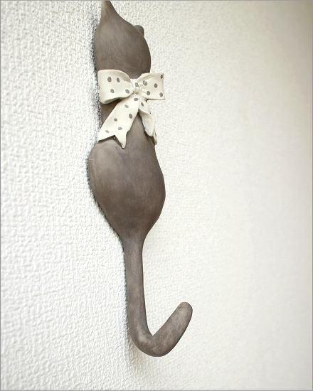 ネコのテールフック リボン(3)