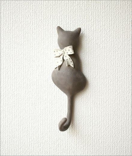 ネコのテールフック リボン(5)