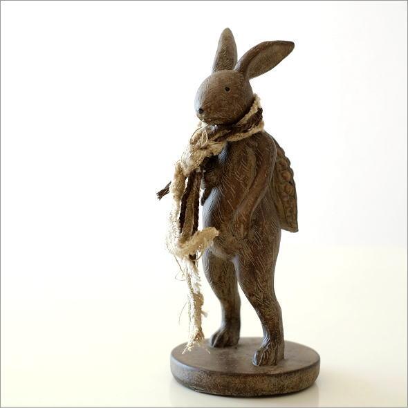ウサギのオブジェ 旅人M(5)