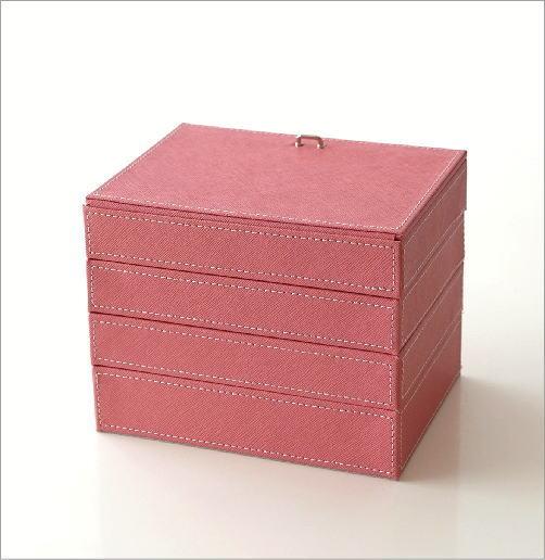 4段ジュエリーボックス(4)
