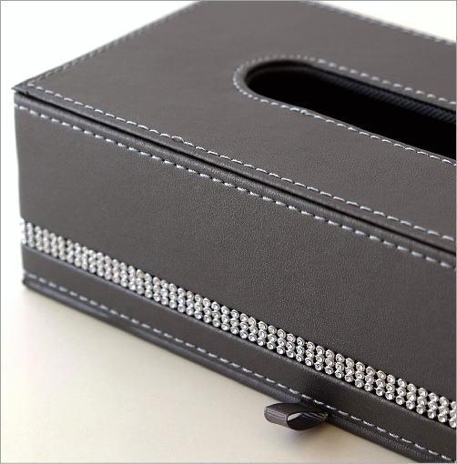 フェイクレザーティッシュボックスA(2)