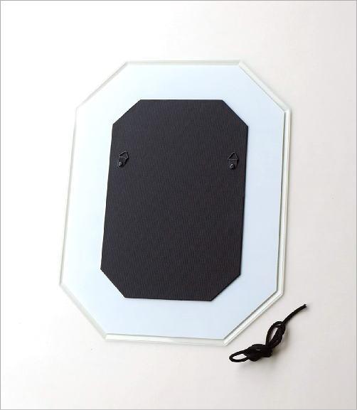八角ミラー L フィールドフラワーBL(4)