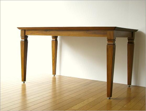 無垢 ダイニングテーブル 幅135cm(2)