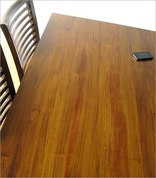 無垢 ダイニングテーブル 幅135cm(3)