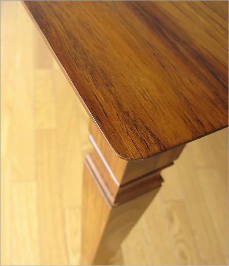 無垢 ダイニングテーブル 幅135cm(4)