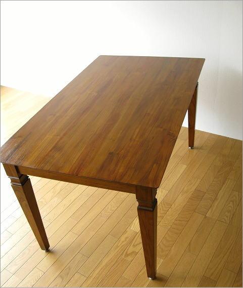無垢 ダイニングテーブル 幅135cm(6)