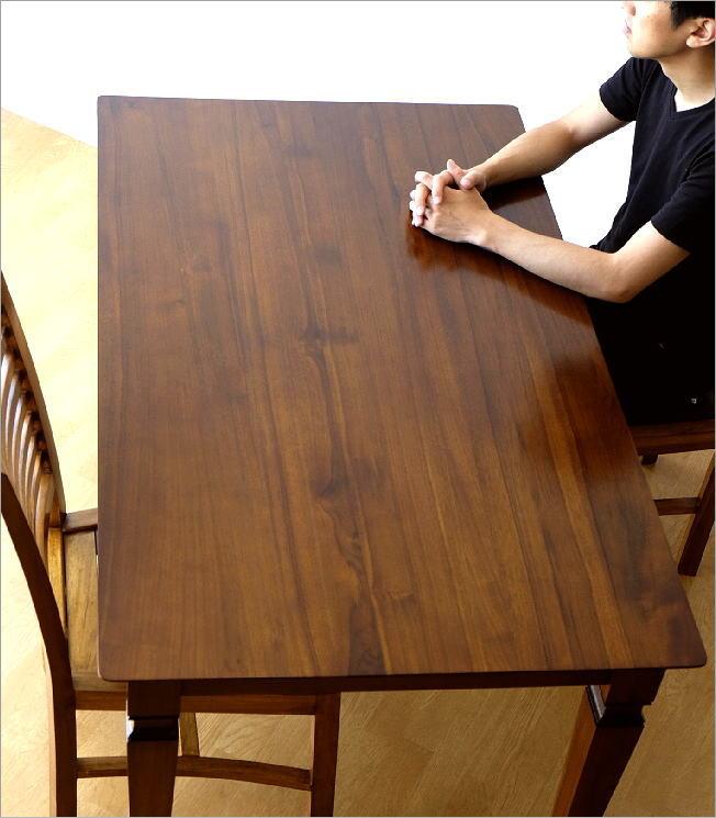 無垢 ダイニングテーブル 幅135cm(1)