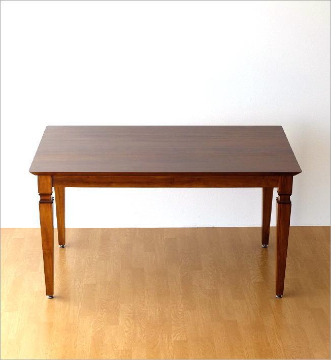無垢 ダイニングテーブル 幅135cm(5)