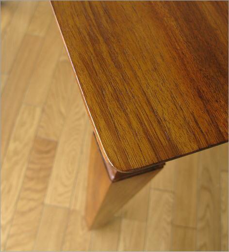 ダイニングテーブル 無垢 幅160cm(3) 天板角