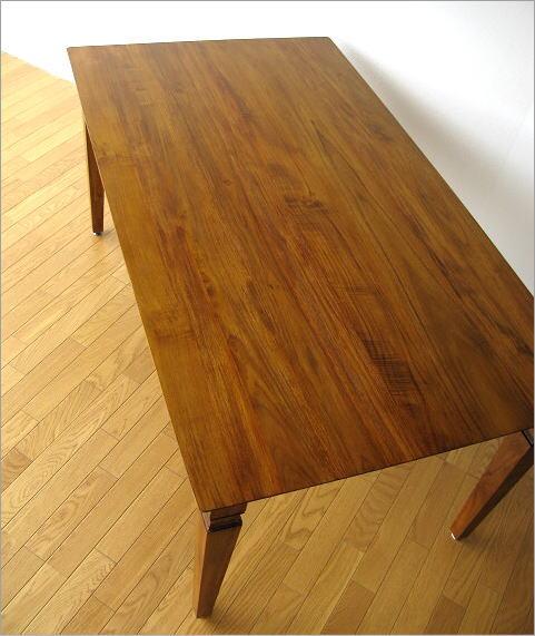 ダイニングテーブル 無垢 幅160cm(4) 全体のイメージ