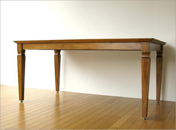 ダイニングテーブル 無垢 幅160cm(6)