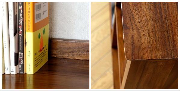木製本棚 チークフリーシェルフ120(5)