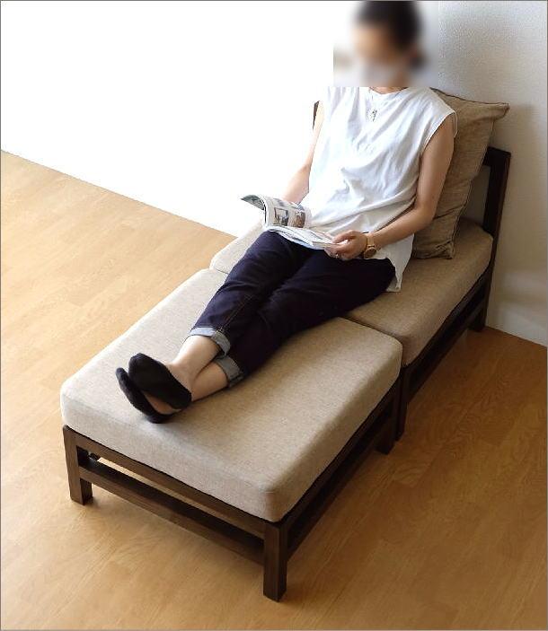 スンカイ 一人用ソファー クッション付き(6)