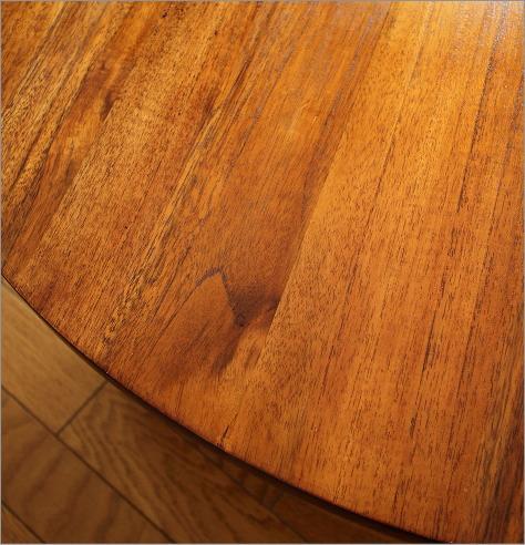 丸テーブル 無垢