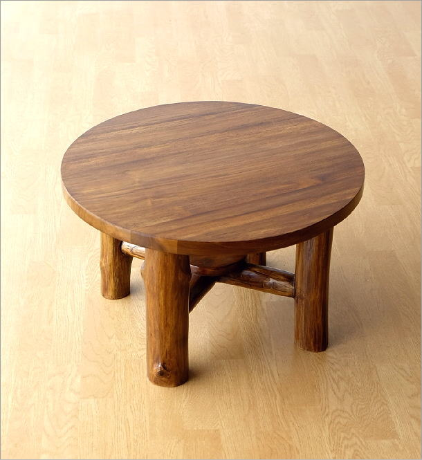 チークラウンドテーブル60(5)