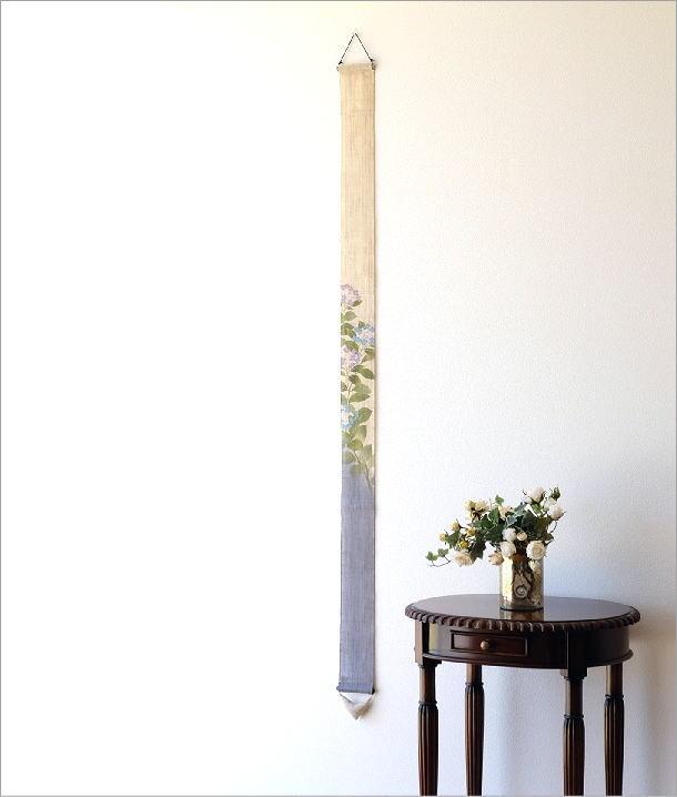細タペストリー 額紫陽花(1)