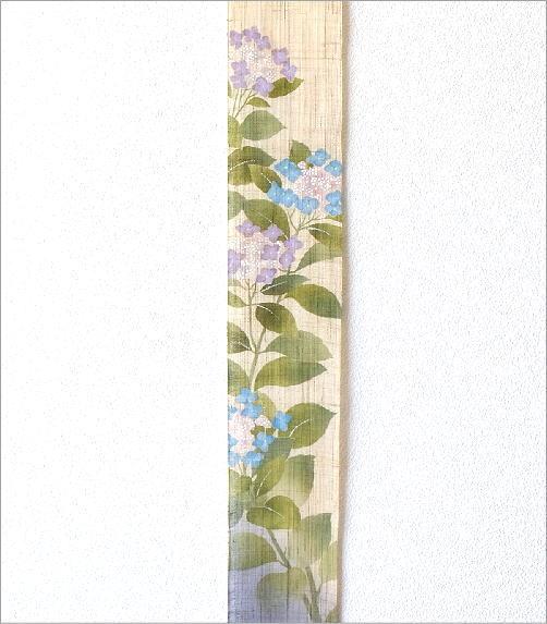 細タペストリー 額紫陽花(2)