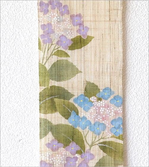 細タペストリー 額紫陽花(3)