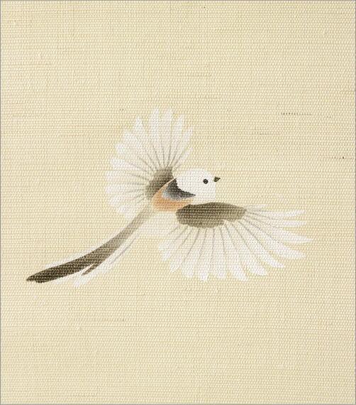 手描きのれん 梅もどき(3)