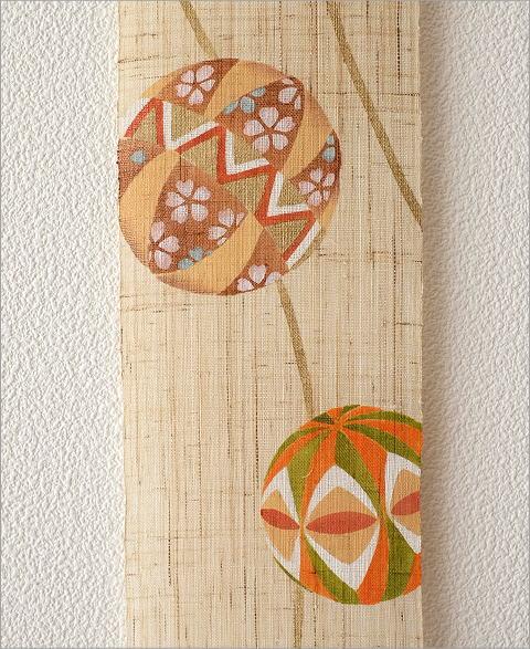 細タペストリー 毬(3)