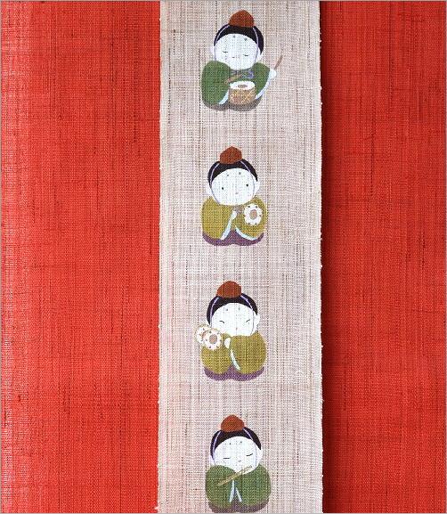 タペストリー 雛祭り(3)