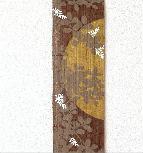 細タペストリー 萩に兎(3)