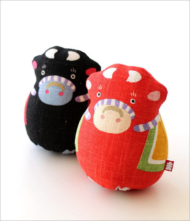 麻人形 干支丑 2カラー(1)