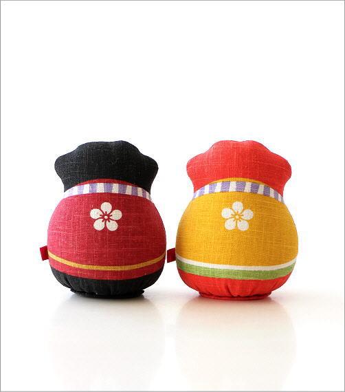 麻人形 干支丑 2カラー(3)