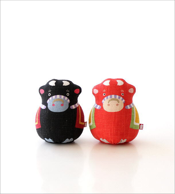 麻人形 干支丑 2カラー(4)