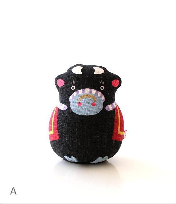 麻人形 干支丑 2カラー(5)