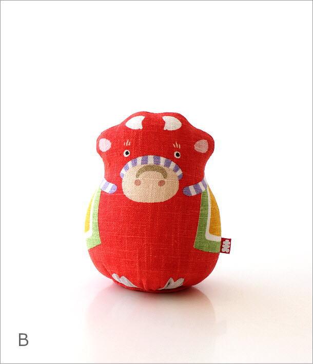 麻人形 干支丑 2カラー(6)